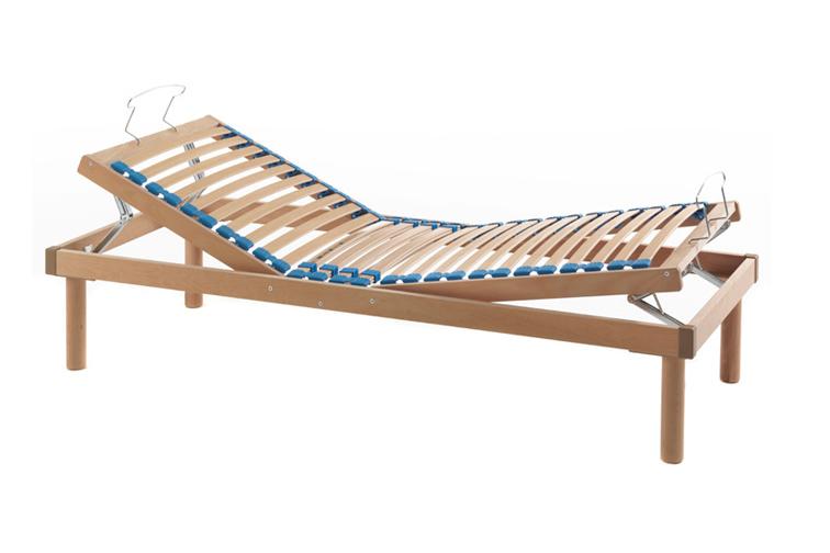 Rete per materasso in legno relax alzatesta e alzapiedi